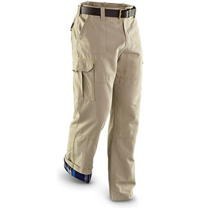 Sportsman's Guide Flannel Lined Cargo Pants