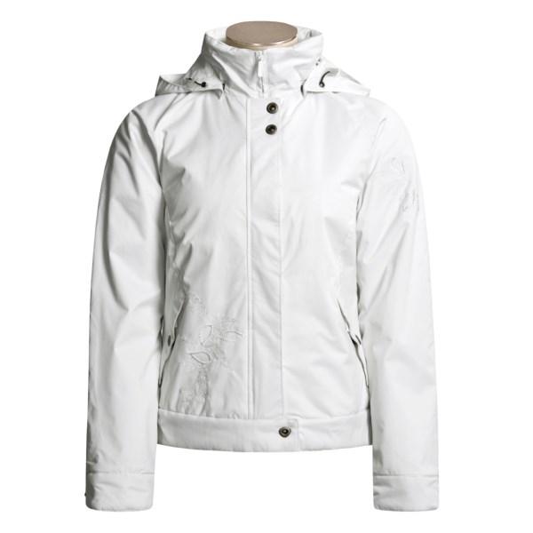 White Sierra Spinner Jacket
