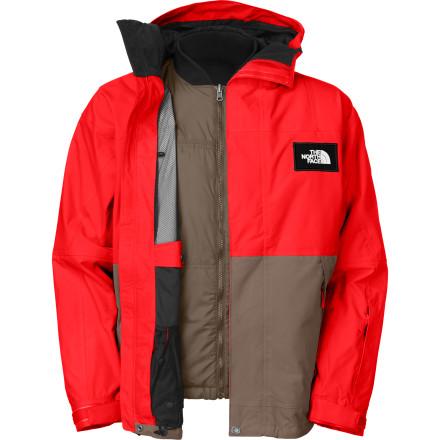 photo: The North Face Rachet Triclimate Jacket component (3-in-1) jacket