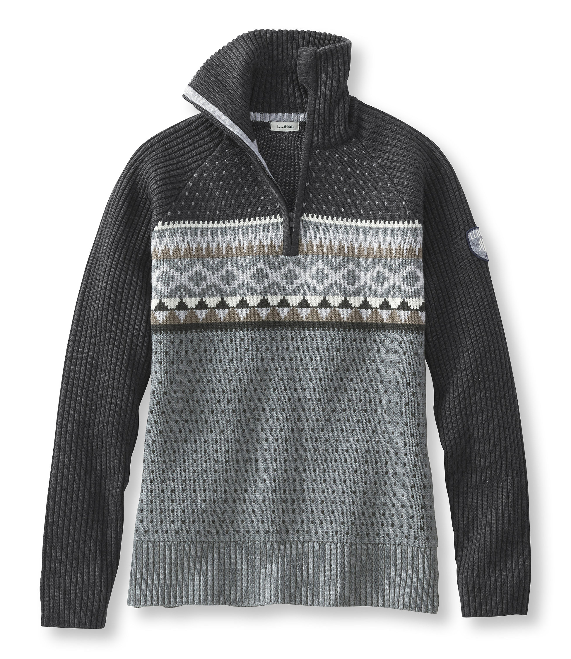 L.L.Bean Snowcap Ski Sweater