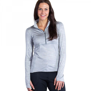 photo: ExOfficio Terma 1/4 Zip long sleeve performance top