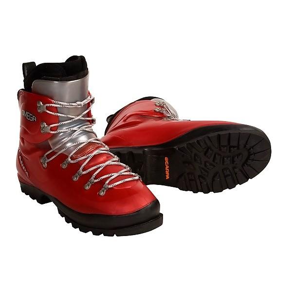photo: Scarpa Omega mountaineering boot