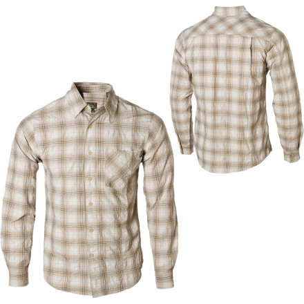 photo: Royal Robbins Bridgeport Long-Sleeve Shirt hiking shirt