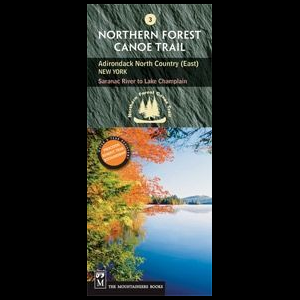 The Mountaineers Books Northern Forest Canoe Trail Map #3 - Adirondack North Country (East)