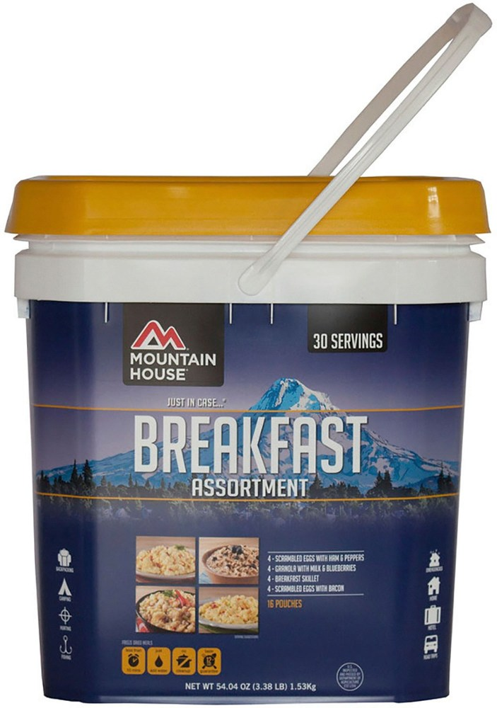 Mountain House Just in Case Breakfast Bucket
