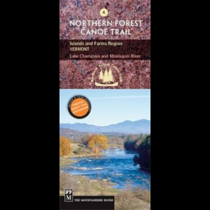 The Mountaineers Books Northern Forest Canoe Trail Map #4 - Islands and Farms Vermont