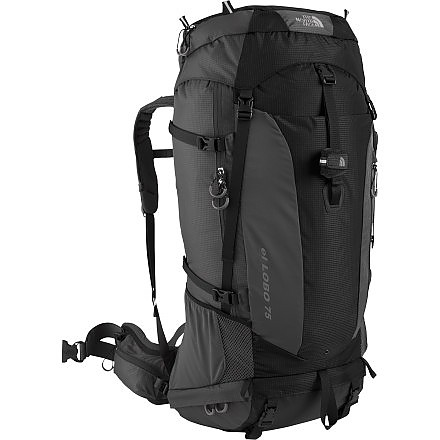 photo: The North Face El Lobo 75 expedition pack (70l+)