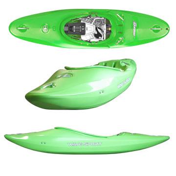 photo: Wave Sport Diesel 60 whitewater kayak