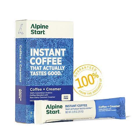 photo: Alpine Start Dairy-Free Coffee + Creamer Instant Latte coffee