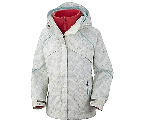photo: Columbia Girls' Bugaboo Parka component (3-in-1) jacket