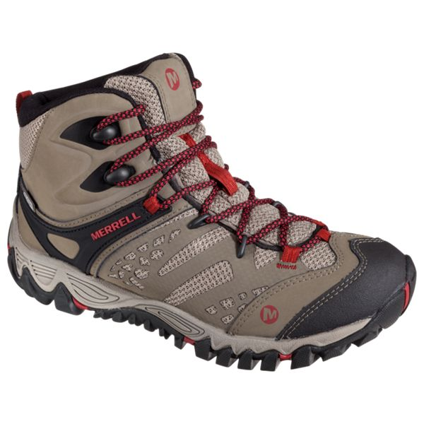 photo: Merrell Women's All Out Blaze Ventilator Mid Waterproof hiking boot