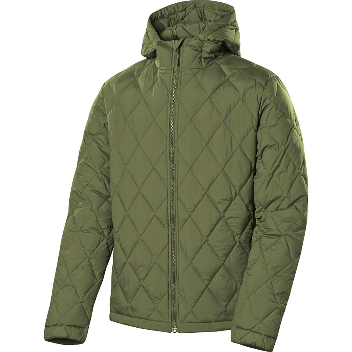 photo: Sierra Designs Men's Stretch DriDown Hoody down insulated jacket