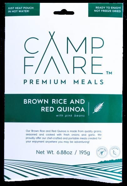 CampFare Brown Rice and Red Quinoa