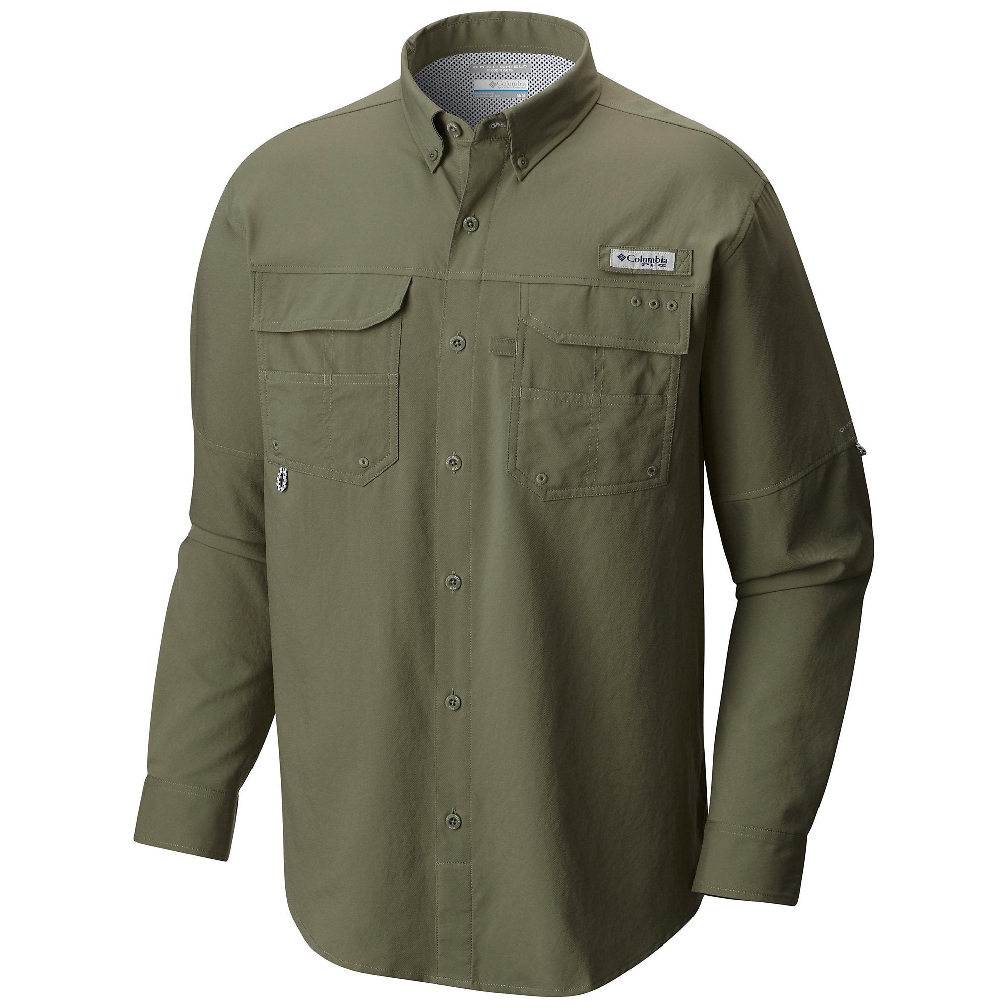 photo: Columbia PFG Blood and Guts III Long Sleeve Woven Shirt hiking shirt