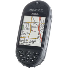 photo: Magellan eXplorist XL handheld gps receiver