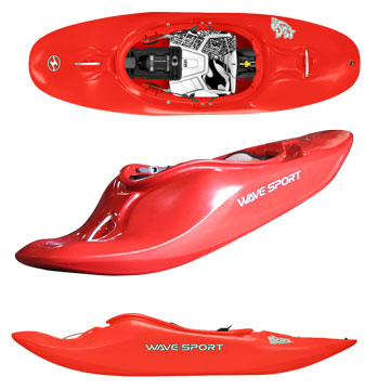 photo: Wave Sport Fuse 64 whitewater kayak