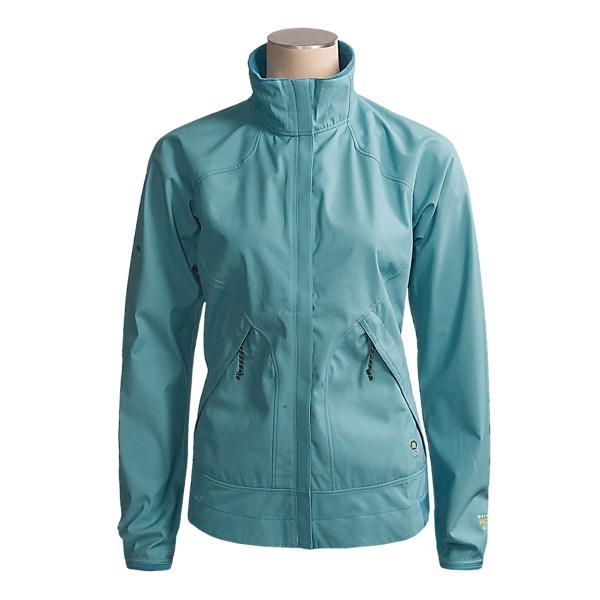 photo: Mountain Hardwear Women's Tempo Windstopper Jacket soft shell jacket