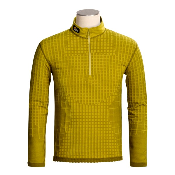 photo: Lowe Alpine Warm Zone Top long sleeve performance top