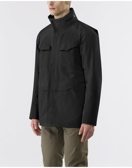 photo: Arc'teryx Veilance Field IS Jacket synthetic insulated jacket