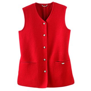 photo: National Geographic Geiger Classic Austrian Boiled Wool Vest wool vest