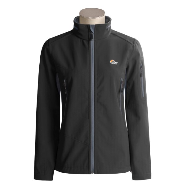 photo: Lowe Alpine Women's Zone Jacket soft shell jacket