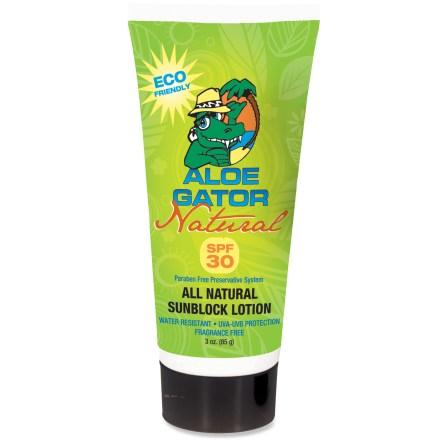Aloe Gator Natural SPF 30 Lotion