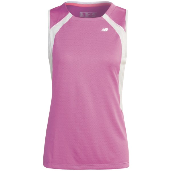 photo: New Balance Women's NBx Adapter Sleeveless short sleeve performance top