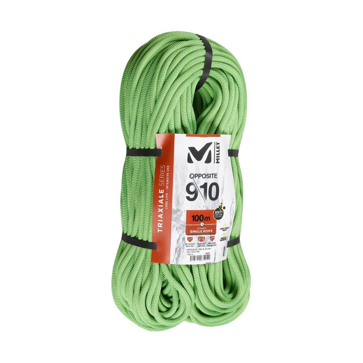 photo: Millet Opposite TRX 9/10mm dynamic rope