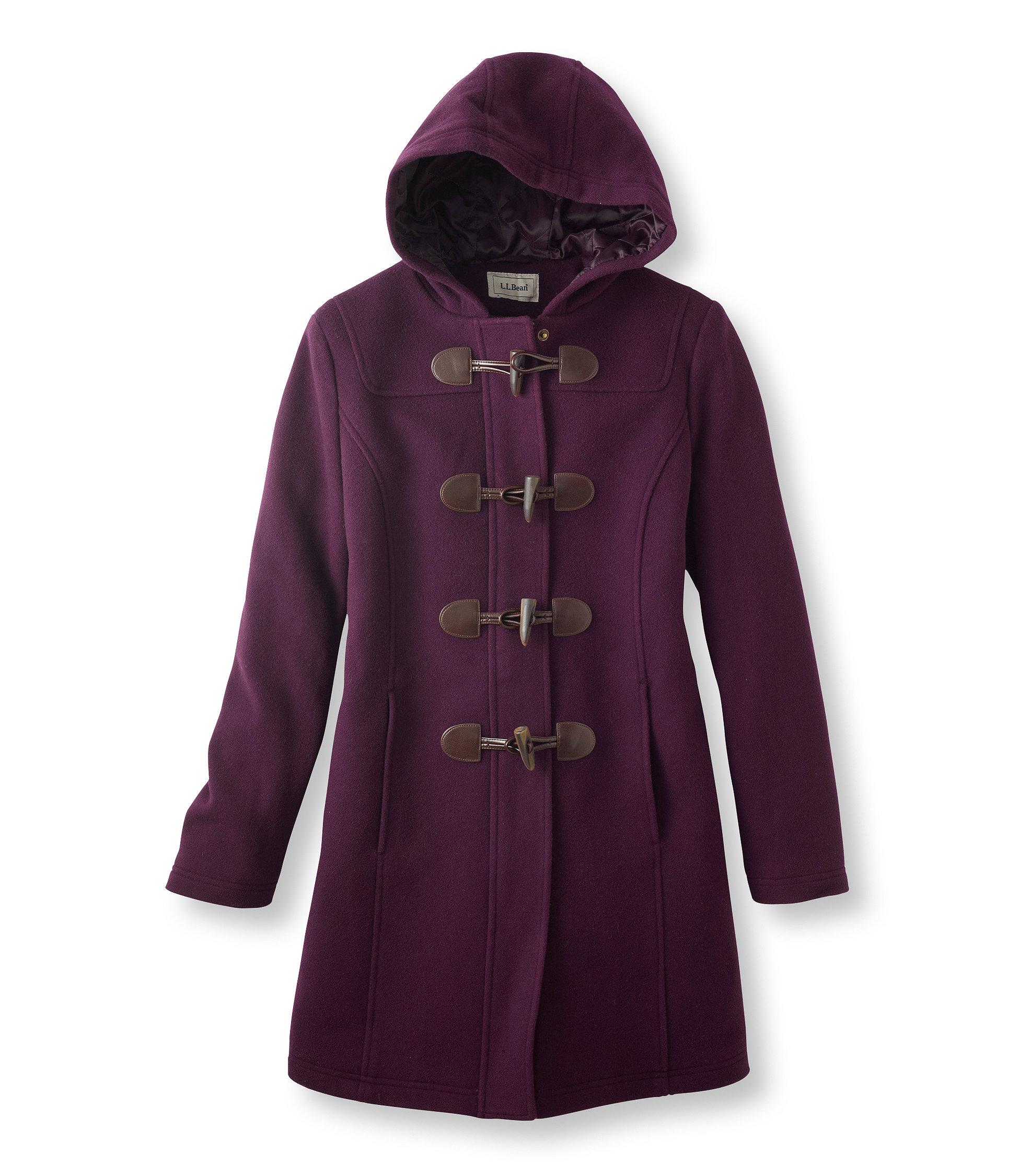 photo: L.L.Bean Classic Lambswool Duffel Coat wool jacket