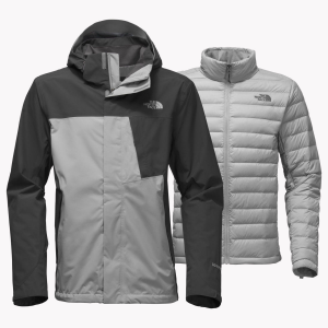 photo: The North Face Men's Mountain Light Triclimate Jacket component (3-in-1) jacket