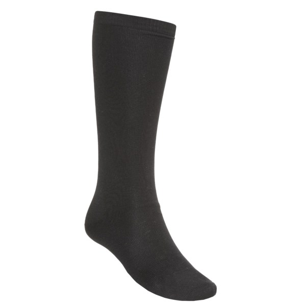 photo: Terramar Lightweight Sportsilks Socks - Over-the-Calf running sock