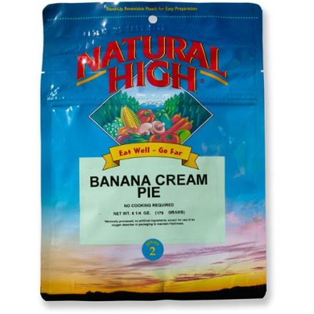 Natural High Banana Cream Pie