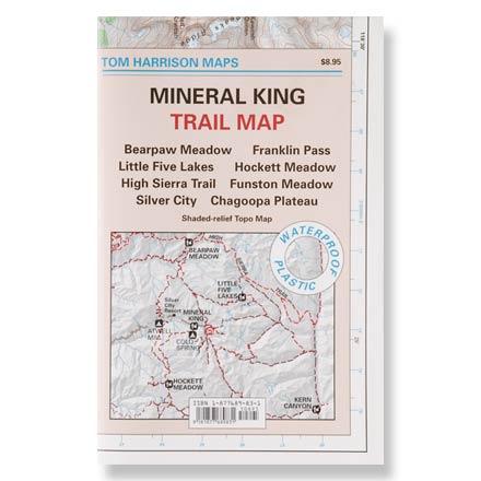Tom Harrison Maps Mineral King Trail Map