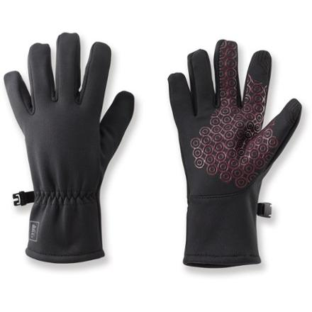photo: REI Girls' Tech-Compatible All-Season Gloves soft shell glove/mitten