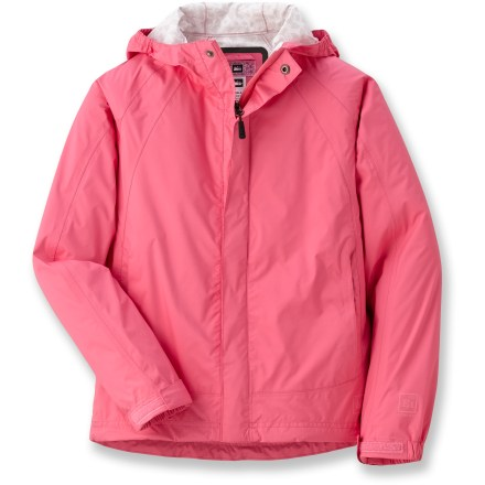 photo: REI Girls' Ultra Light Jacket waterproof jacket