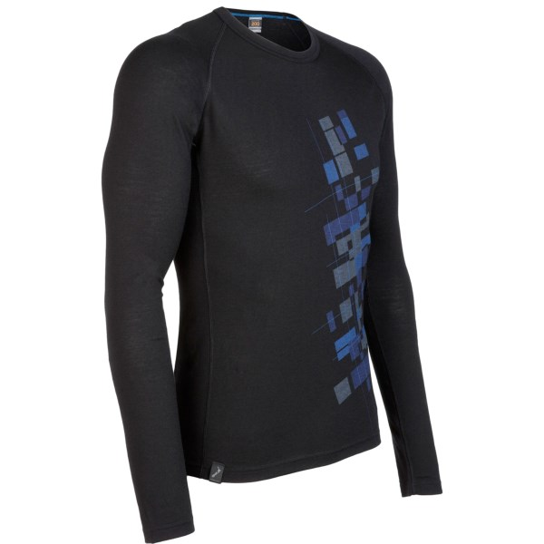 photo: Icebreaker Oasis Long Sleeve Crewe Mt Cook base layer top