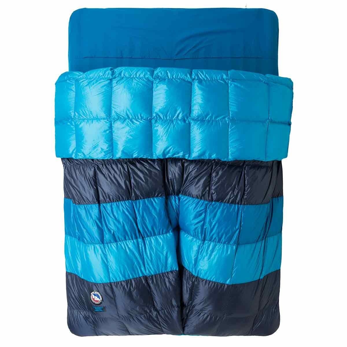 photo: Big Agnes Camp Robber Bedroll warm weather down sleeping bag