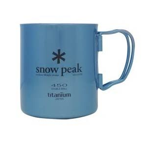 Snow Peak Ti-Double 450 Colored Cup