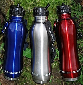 photo: Drink Safe Systems ECO Stainless Pure Filter Bottle bottle/inline water filter