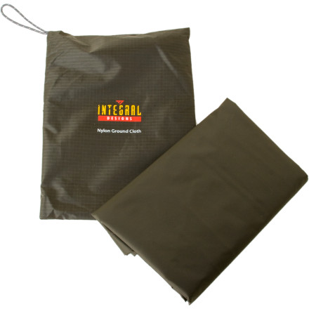 photo: Integral Designs Nylon Ground Cloth tarp/shelter