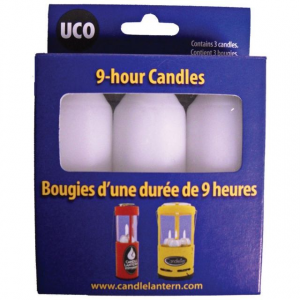 photo: UCO 9-Hour Candles light