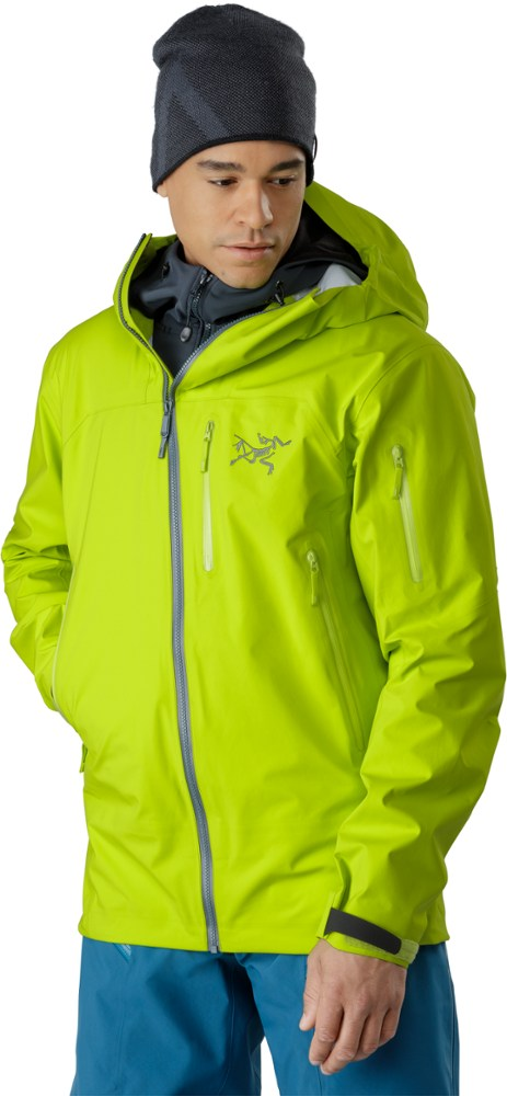 photo: Arc'teryx Sidewinder SV Jacket waterproof jacket