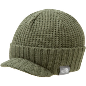 photo: The North Face Boys' Finn Visor Beanie winter hat