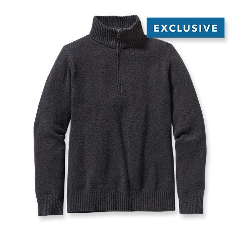 Patagonia Reclaimed Wool 1/4-Zip Sweater