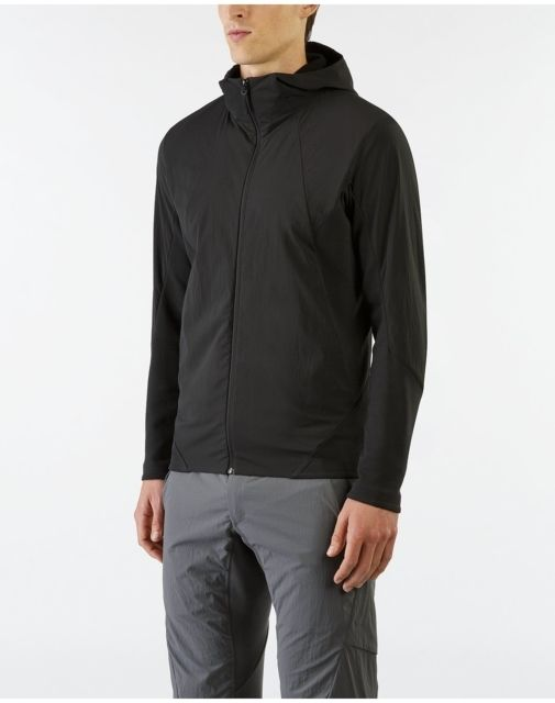photo: Arc'teryx Veilance Dyadic Comp Hoody fleece top