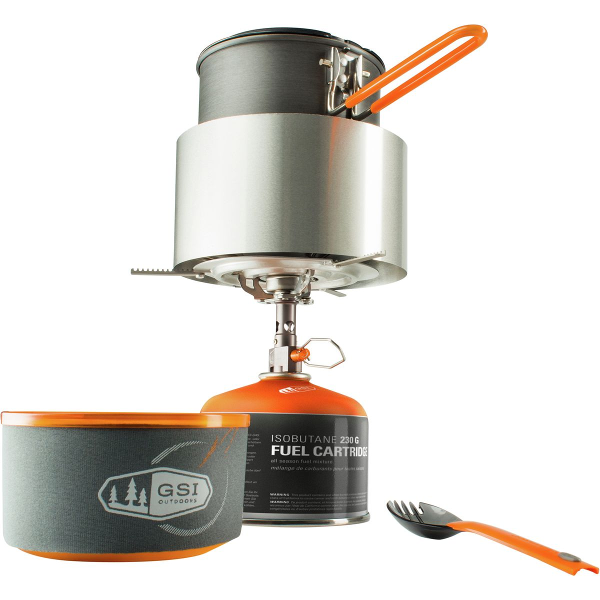 photo: GSI Outdoors Pinnacle Soloist Complete pot/pan