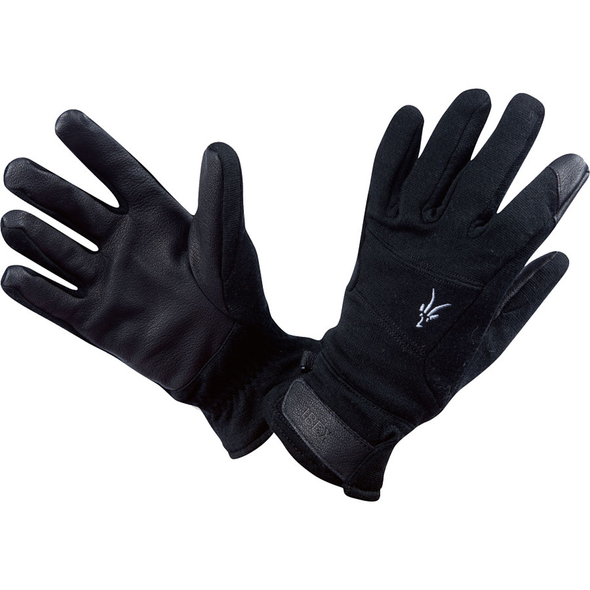 photo: Ibex Shak 2-Layer Gloves fleece glove/mitten