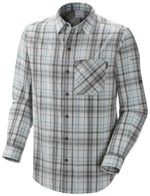 photo: Columbia Men's Bug Shield Plaid Long Sleeve Shirt hiking shirt