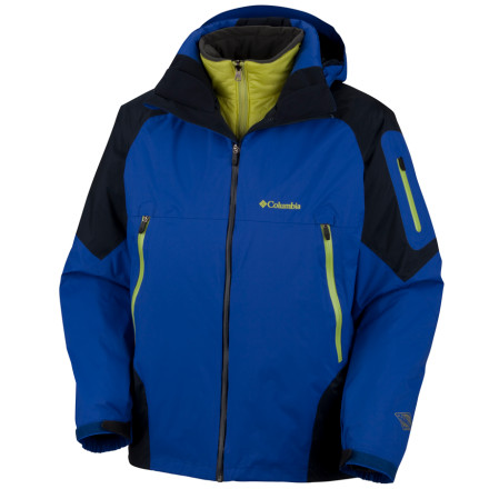 photo: Columbia Glacier to Glade II Parka component (3-in-1) jacket