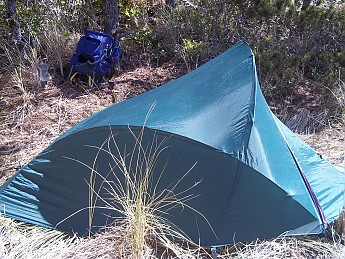 I was tearing down the tent when I found out that I could pitch it fly first . & Double Walled Tents-Fly Attached To Inner Tent - Trailspace.com